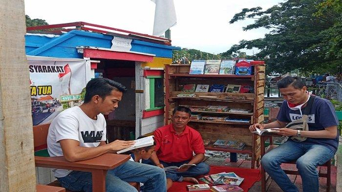 Pegiat Literasi Chrisman Nduru, Sosok Prajurit TNI yang Dirikan TBM Lentera Kota Tua Padang