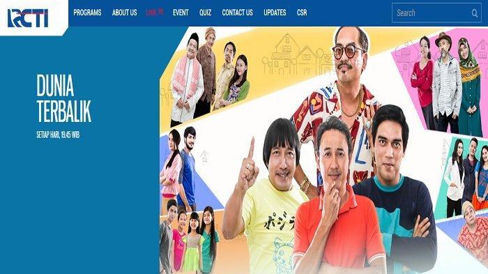 Jadwal Acara TV RCTI Selasa 11 Agustus 2020 Ada Anak Jalanan, Preman Pensiun, Dunia Terbalik