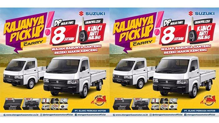 Promo Akhir Tahun Suzuki New Carry Pick Up, Cukup DP Rp 8 Jutaan Bisa Bawa Pulang Rajanya Pick Up