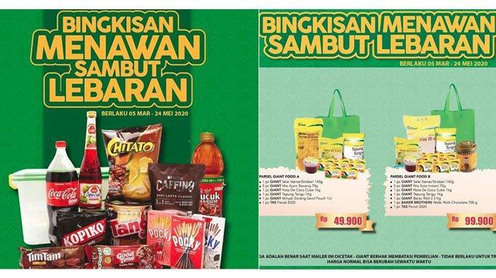 Berburu Bingkisan Lebaran di Promo Giant, Bisa Pilih Paket Sembako, Parsel Keramik hingga Buah Segar