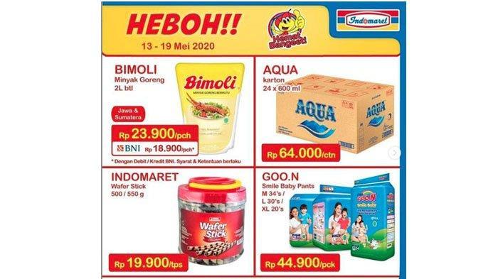 Promo Heboh Indomaret Periode 13-19 Mei 2020, Cek Cara Dapatkan Minyak Goreng Bimoli 2L Rp 18.900