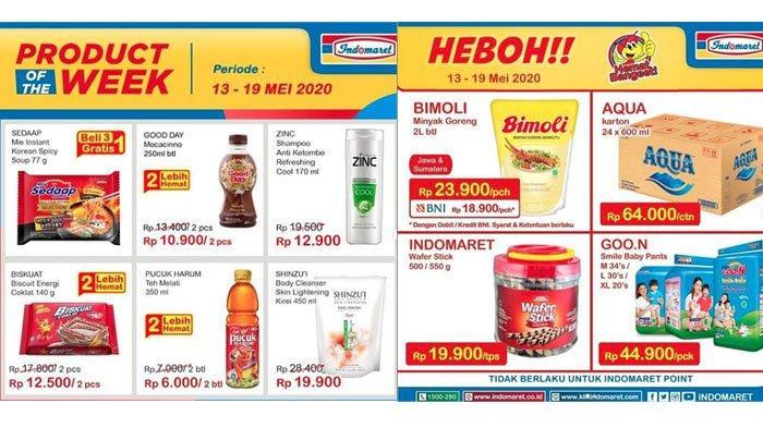 Promo Indomaret Product of the Week 13-19 Mei 2020, Beli 3 Gratis 1 Sedaap Mie Instan Korean Spicy