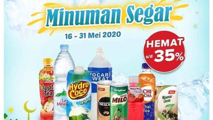Deretan Promo INDOMARET Terbaru 18 Mei 2020: Dapatkan Diskon hingga 35 Persen untuk Minuman Segar
