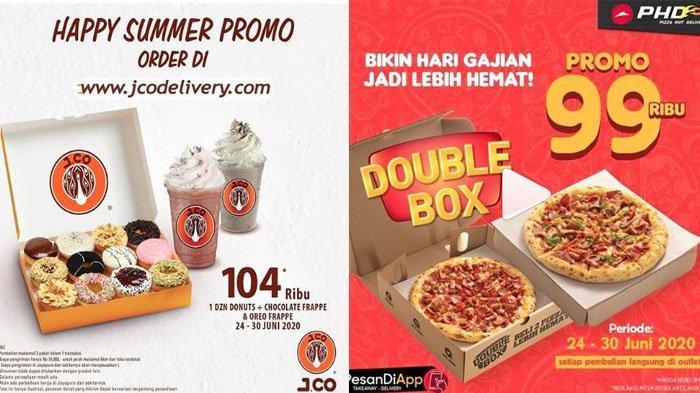 Jelang Akhir Pekan Simak PromoRicheese Factory, JCO, PHD, Roti O,Burger King hingga HokBen