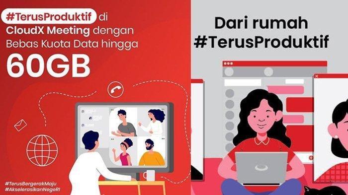 PROMO Paket Internet Telkomsel, Gratis 60 GB untuk CloudX & 30 GB Belajar di Rumah, Begini Caranya
