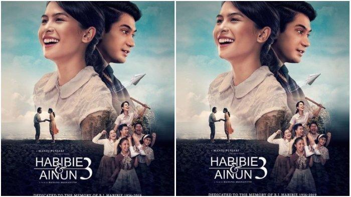JADWAL BIOSKOP Kota Padang Hari, Film Habibie & Ainun 3 dan Imperfect Masih Tayang