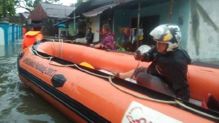 Genangan Air Disejumlah Lokasi Banjir di Padang Sudah Surut, Kalaksa BPBD: Waspada Perubahan Cuaca