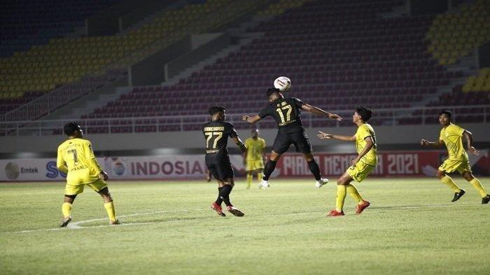PSIS vs Barito Putera - Drama 6 Gol dan Kartu Merah untuk Pelatih, Laga Berakhir Seri