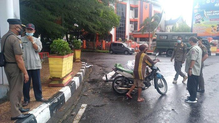 Satpol PP Sumbar Gandeng Dinas Sosial Sumbar dan Kota Padang, Tertibkan 'Gepeng' di Jalan Sudirman