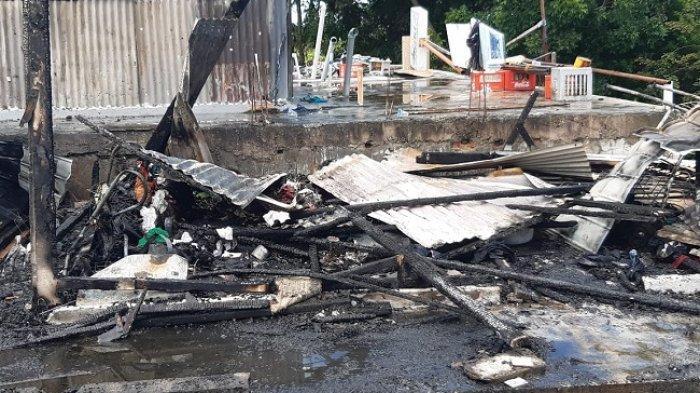 Lantai II Rumah Bertingkat di Padang Hangus Terbakar, Ada Suara Ledakan Sebelum Api Membesar