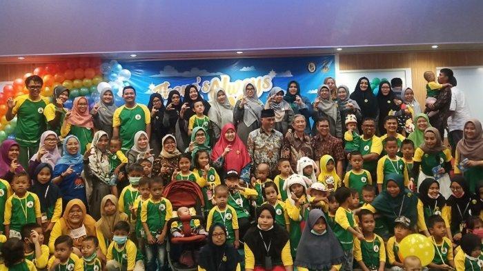 70 Anak Penderita Kanker 'Reuni' di RSUP M Djamil Padang, Mereka Berlomba Hasilkan Karya
