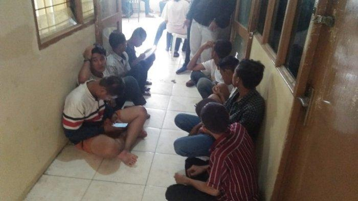 Keluyuran Malam di Tengah Pandemi Corona, 25 Remaja di Padang Diamankan Satpol PP