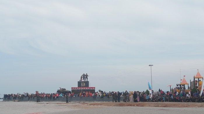 Satpol PP Kota Pariaman Antisipasi Ayunan di Muaro Pantai Gandoriah Diduga Jadi Tempat Mesum