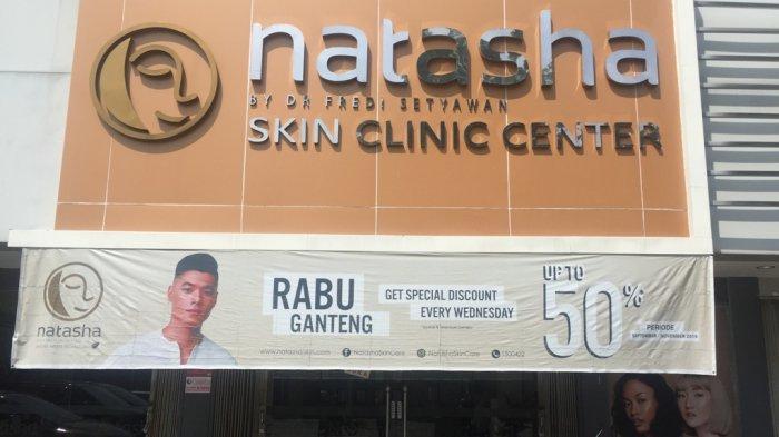 Natasha Skin Care Padang Hadirkan Promo Raga Alias Rabu Ganteng,Diskon hingga 50 Persen