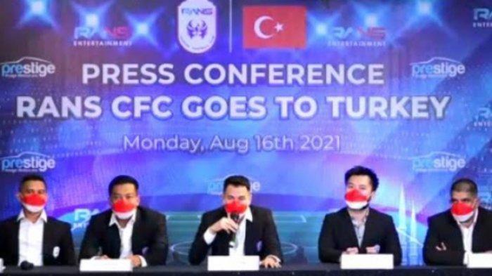 RANS Cilegon FC Uji Tanding ke Turki, Raffi Ahmad Ungkap Misi Selain Lawan Fenerbahce