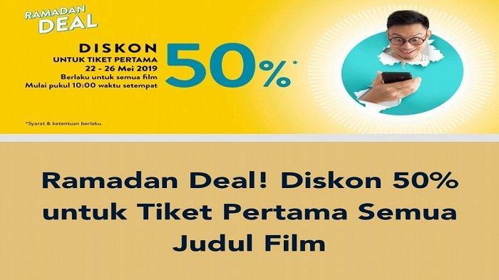 Ayo Catat Tanggalnya, Promo Tix ID Diskon 50 Persen untuk Semua Judul Film di Cinema XXI