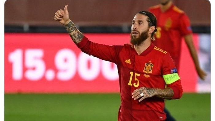 Sergio Ramos Jadi Bagian Skema Pelatih Luis Enrique, Timnas Matador Tatap Kualifikasi Piala Dunia