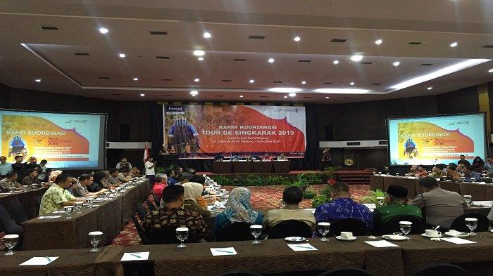 Catat! Sejumlah Hasil Rapat Koordinasi Tour De Singkarak di Hotel Kyard Bumi Minang Hari Ini