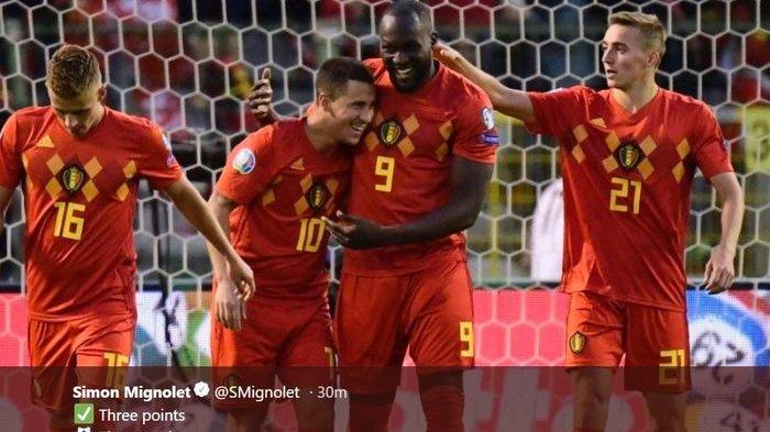 REKAP Kualifikasi Euro 2020 - Jerman, Belgia, dan Italia Sempurna