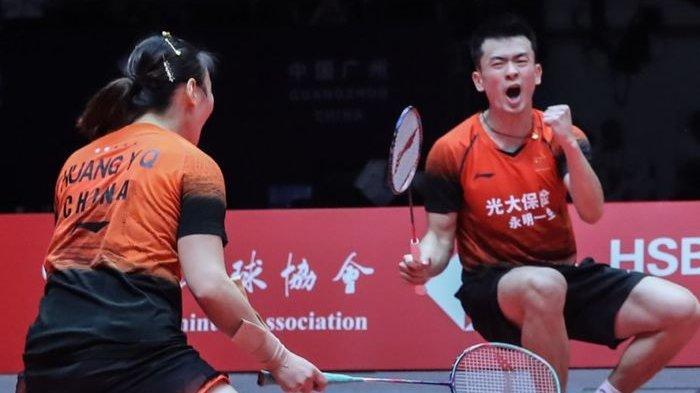 Zheng/Huang Hanya 25 Menit Langsung Sudahi Perlawanan Rekan Senegara, Wang/Huang