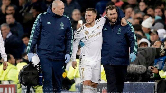 Update Real Madrid dan Eden Hazard: Kalkulasi Kerugian Selama 2 Tahun, 1 Menit 1 Miliar hingga