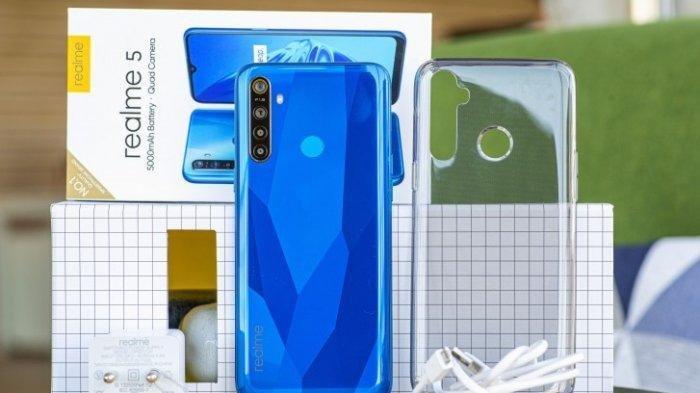 Lihat Spesifikasi Realme 5 dan Realme 5 Pro, Harga dan Perbedaan, Memiliki Empat Kamera
