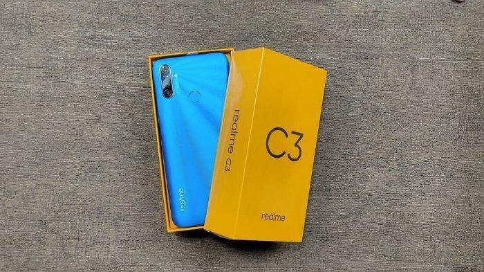Lihat Spesifikasi Realme C3, Smartphone yang Dijuluki Game Monster, Dijual Rp 1,7 Jutaan