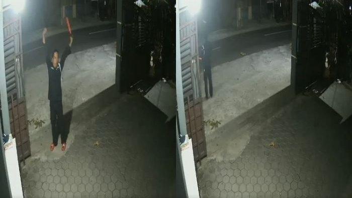 VIRAL Penjaga Malam Kaget Lihat Sepeda Motor Ngebut tapi Ada Pocong Sedang Berdiri Boncengan