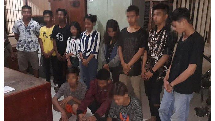 Libur Cegah Corona, 22 Remaja yang Hendak Tawuran di Padang Diamankan Polisi, 3 di Antaranya Wanita