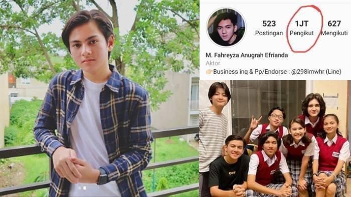 Reaksi Rey Bong Pemeran Joko Sinetron Dari Jendela SMP Saat Followers Instagram Tembus 1 Juta