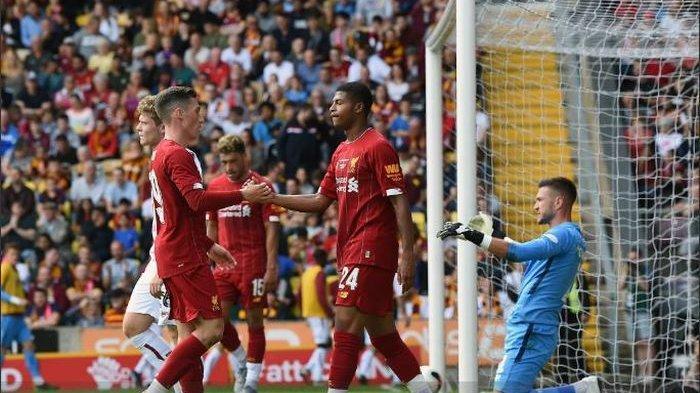 Remaja Ajaib Top Scorer Piala Dunia Bikin Gol Lagi Hasil Bradford City vs Liverpool