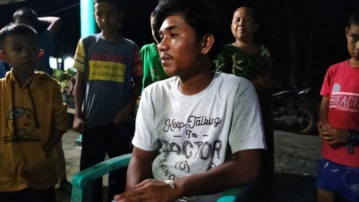 Riko Ceritakan Detik-Detik Kapal Pencari Ikannya Karam hingga Diselamatkan Nelayan di Perairan Tiku