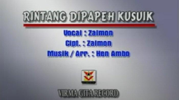 Lirik Lagu Minang Rintang di Papeh Kusuik - Zalmon: Jikok di etong buruak di sabuik