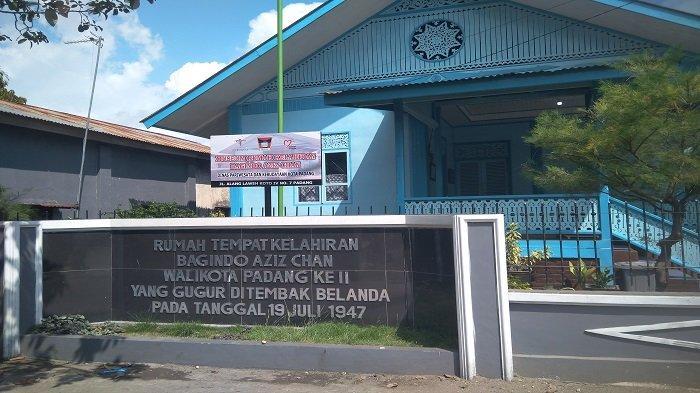 Museum Rumah Kelahiran Bagindo Aziz Chan Di Kota Padang Sepi Pengunjung Tribun Padang