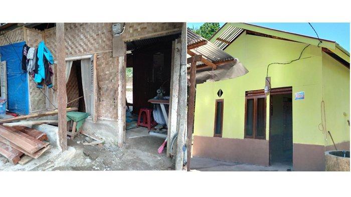 Rumah Ibu 3 Anak di Padang Pariaman Dibedah oleh Komunitas FB Peduli Dhuafa, Tak Lagi Bolong-Bolong