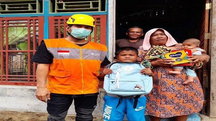 Rumah Zakat Sumbar Salurkan Bantuan, Datangi Warga Terdampak Banjir di Pasaman Barat