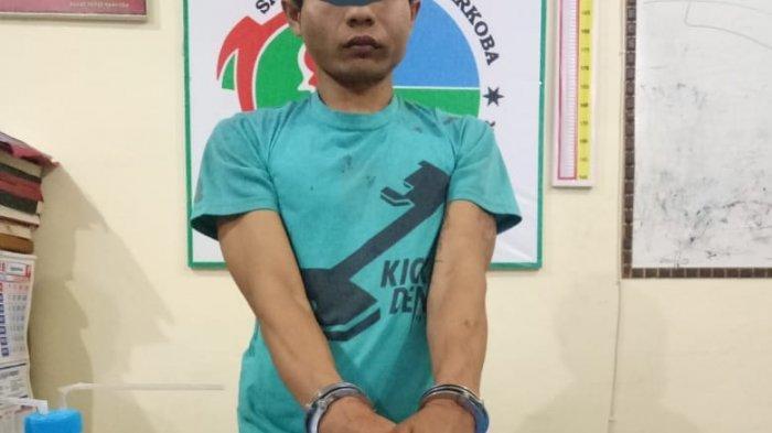 Seorang Pria Tanah Datar Diamankan di Rumah Mertuanya, Polisi Amankan 19 Paket Diduga Sabu