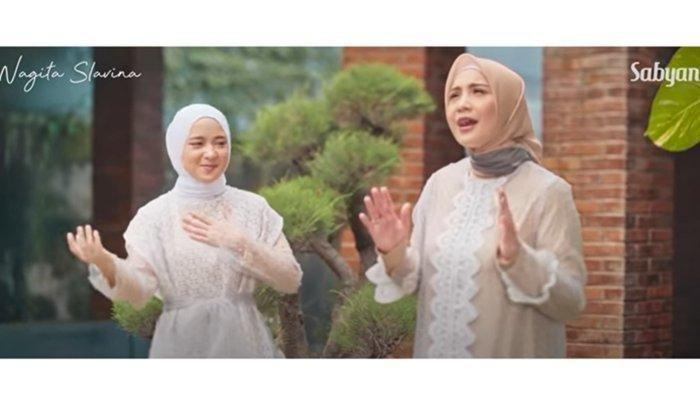 Sabyan dan Nagita Slavina Rilis Single Religi Ramadan, 4 Jam Ratusan Ribu Viewers Tonton Video Klip