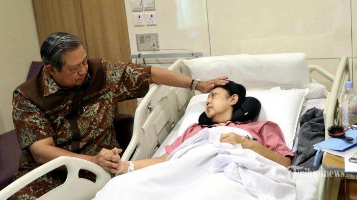Adik Kandung Donorkan Sumsum Tulang Belakang untuk Ani Yudhoyono yang Terserang Kanker Darah