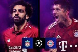 Liverpool vs Bayern Muenchen pada babak 16 besar Liga Champions akan menjadi adu tajam Mohamed Salah dan Robert Lewandowski.