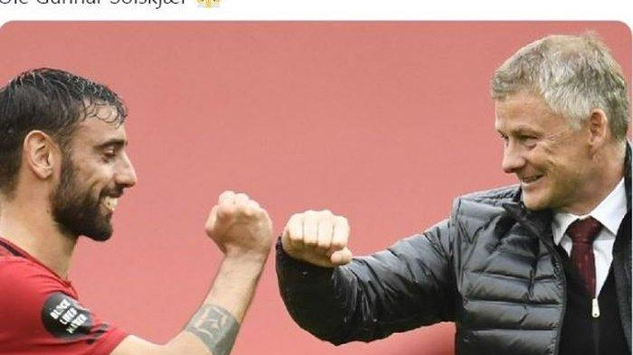 Bruno Fernandes Memadai Jadi Pengisi Lini Serang Man United, Ole Abaikan Bursa Transfer Januari 2021