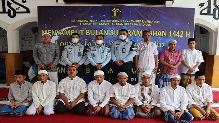 Sambut Ramadhan, Lapas Kelas II A Padang Adakan Lomba Tahfiz Alquran Antar Warga Binaan