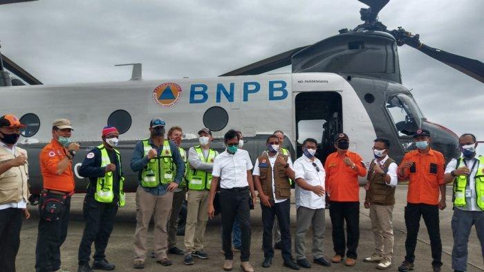 BNPB Datangkan 1 Helikopter Jenis Chinook ke Sumbar, Dukung Penanganan Bencana