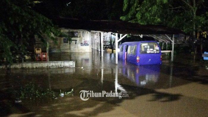 BPBD sebut Pendangkalan Mengakibatkan Meluapnya Saluran Air Hingga Merendam Jalan By Pass Air Pacah