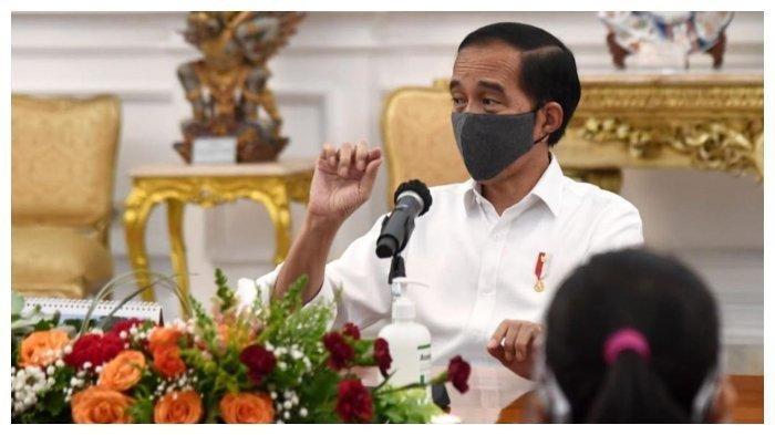 Presiden Jokowi Tegaskan Jadi Orang Pertama yang Disuntik Vaksin Covid-19, Lakukan Konferensi Pers