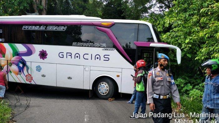 Fakta Bus Pariwisata Tersangkut di Kelok 44 Maninjau, Sopir Tidak Tau Jalan, Gunakan Google Maps