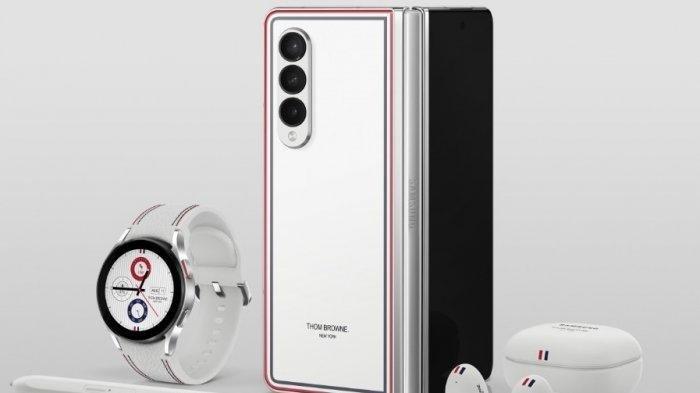 UPDATE Galaxy Z Fold3 dan Flip3 5G Edisi Thom Browne Rilis di Indonesia, Harga Mulai Rp 35,9 Jutaan
