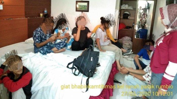 Diamankan Polisi Bersama 6 Gadis Remaja di Hotel, 3 Pria di Padang jadi Tersangka, Ini Perannya