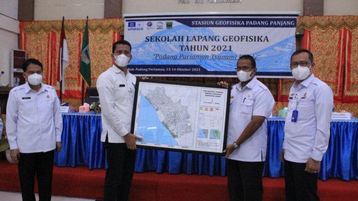 BPBD Padang Pariaman Punya WRS New Generation InaTews, Info Real Time Peringatan Dini Tsunami-Gempa