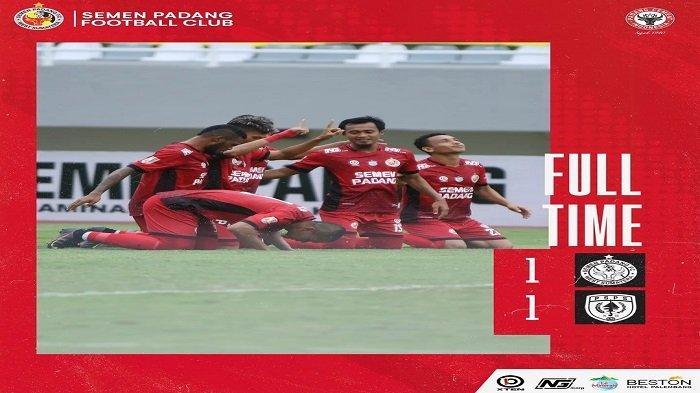 Semen Padang FC dan PSPS Riau Harus Rela Berbagi Angka, Hasil Imbang 1-1: Langkah Berat Kabau Sirah